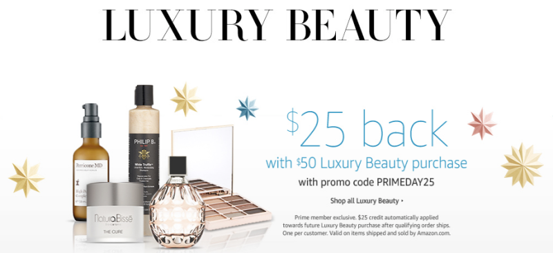 Spend $50 on Luxury Beauty, get $25 credit