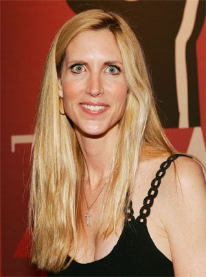 """Illustration for article titled Ann Coulter Calls Bill Maher A """"Misogynist"""" To His Face"""