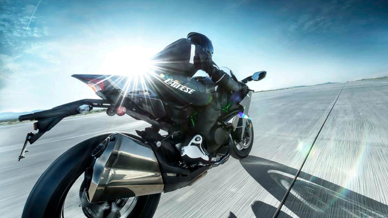 Image result for Kawasaki H2 Ninja Makes A Short Work Out Of A State Trooper! Insane Soundtrack & Power!