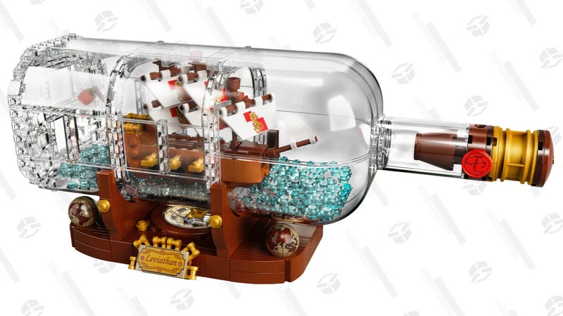 LEGO Ship in a Bottle | $56 | Walmart and Amazon