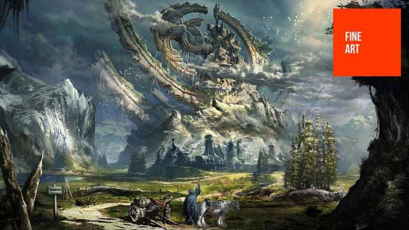 Illustration for article titled Gorgeous Tera Concept Art, Fresh From Korea