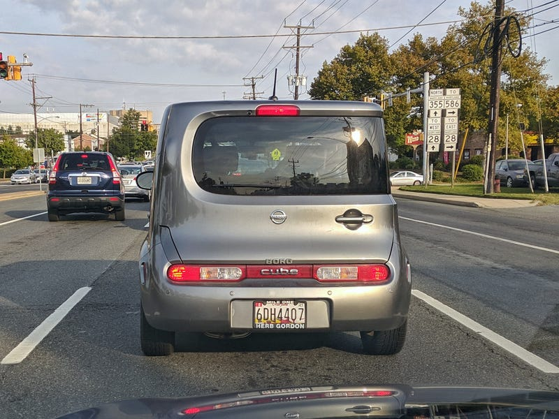 Illustration for article titled I approve of this supplementary Nissan Cube badging