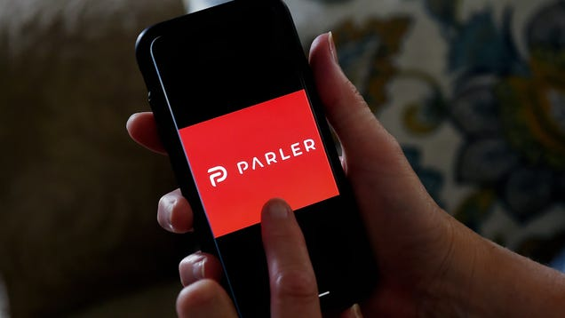 Google And Apple Kick Parler Off Their App Stores [Update: Amazon Jumps on the Ban Train]