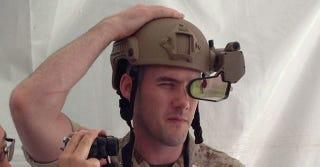 Illustration for article titled El nuevo casco militar de DARPA dará visión aumentada a los soldados