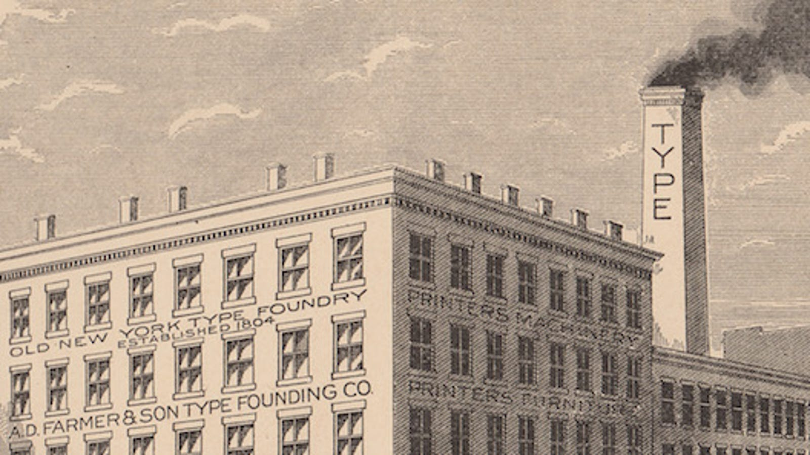 My Type of Neighborhood: Mapping the Type Foundries of New York City