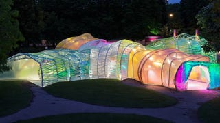 I Want to Live In This Colorful Maze Made From Sheets of Plastic
