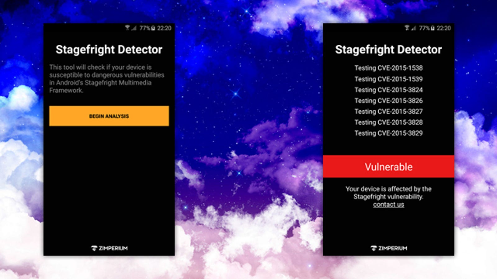 stagefright vulnerability fix