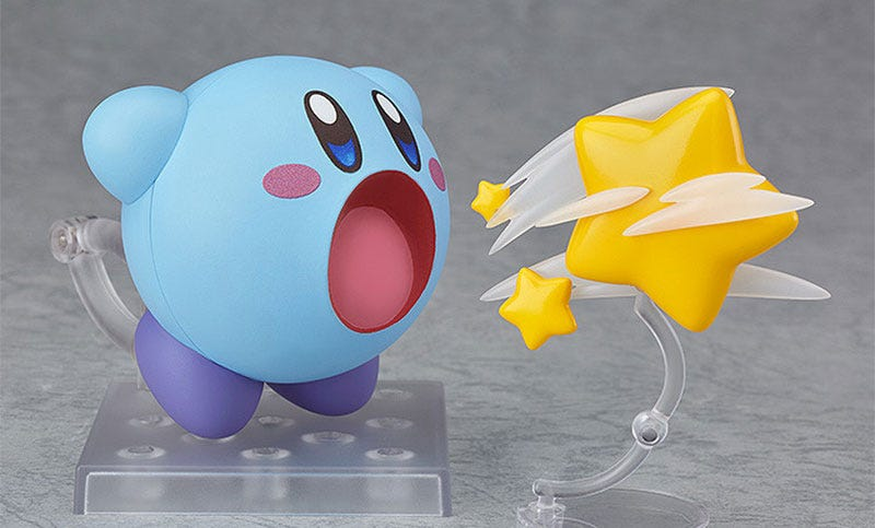 Illustration for article titled Here Is A Very Sweet Kirby Action Figure