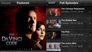 Sony's Crackle App Streams Movies and TV Shows to Your iPhone and