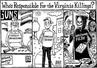 Illustration for article titled Editorial Cartoon - May 4, 2007