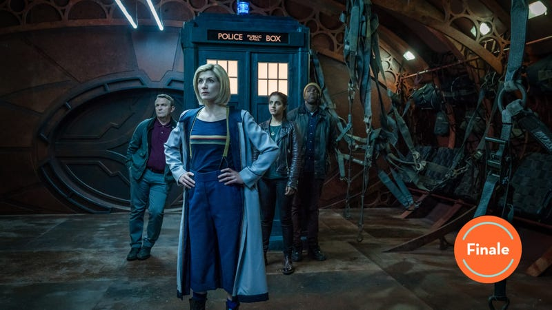 Illustration for article titled Doctor Who's season finale is a bit of a letdown