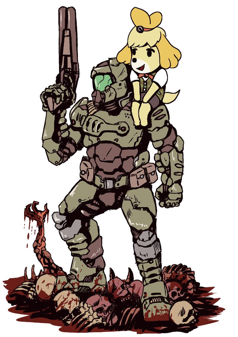 Doomguy And Isabelle Are Best Friends Kotaku Uk