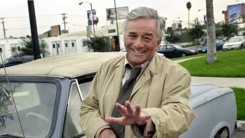 Illustration for article titled Peter Falk, actor who made the Peugeot 403 famous, dead at 83