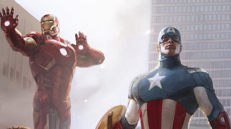 Illustration for article titled Designing The Avengers: The Art of Marvel's Most Ambitious Movie