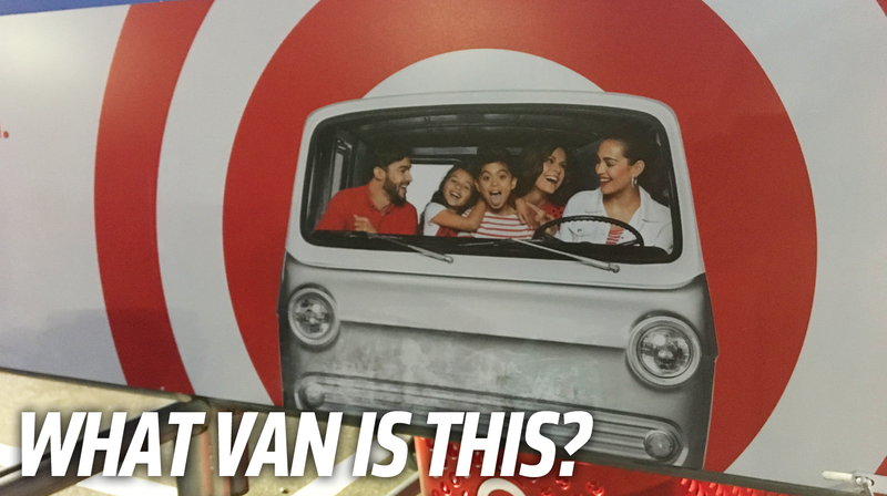 Illustration for article titled It's Time To Identify The Van Used On Target's Cart Return Corrals