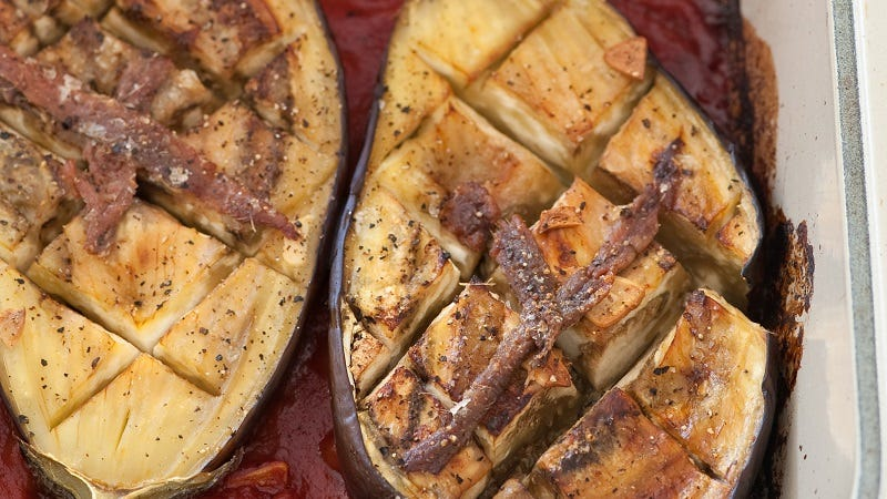 Illustration for article titled If You Want to Freeze Eggplant, Bake It First