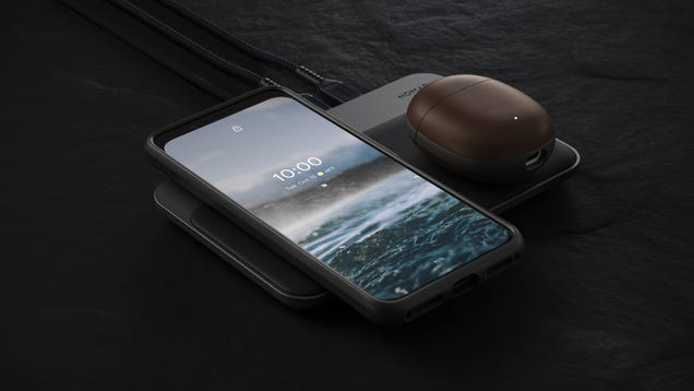 Nomad s Rugged Cases for Google Pixel Buds 2 Are the Real, Horween Leather-Wrapped Deal