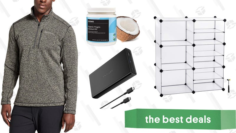 Illustration for article titled Saturday's Best Deals: J.Crew Factory, Home Storage, Towable Tube, and More