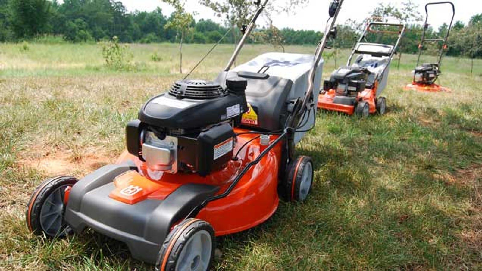 How to choose a quality gasoline mower 85