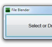 Illustration for article titled File Blender Converts Files with Drag and Drop Ease