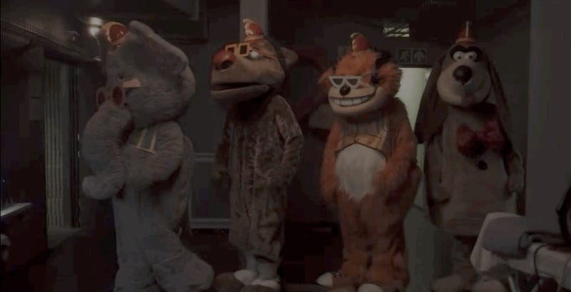 The Banana Splits Movie Is Here to Ruin Your Childhood