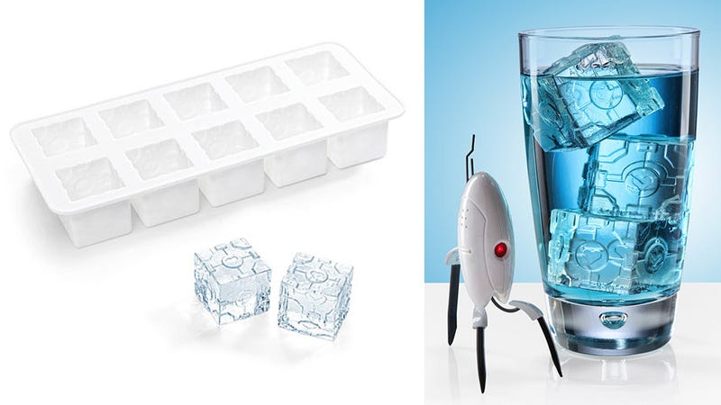 Illustration for article titled Why Did It Take So Long For Companion Cube Ice Trays?