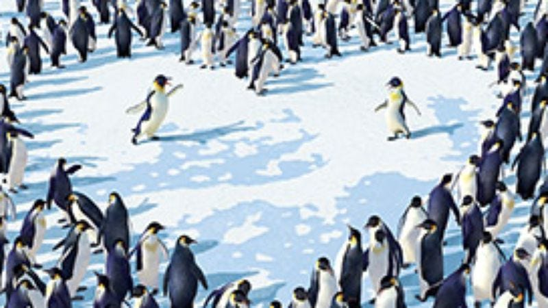 Illustration for article titled Happy Feet
