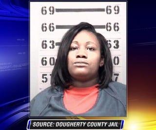 Kenlissia JonesDougherty County Jail