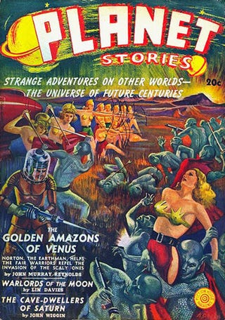 Illustration for article titled The Golden Age of Science Fiction: A Pulp Primer, Pt. 2