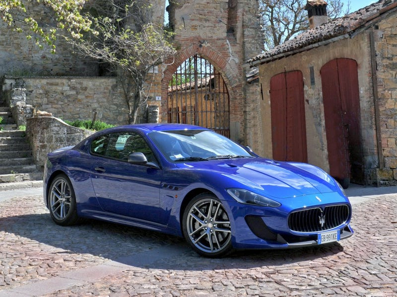Illustration for article titled *Cries* Maserati...