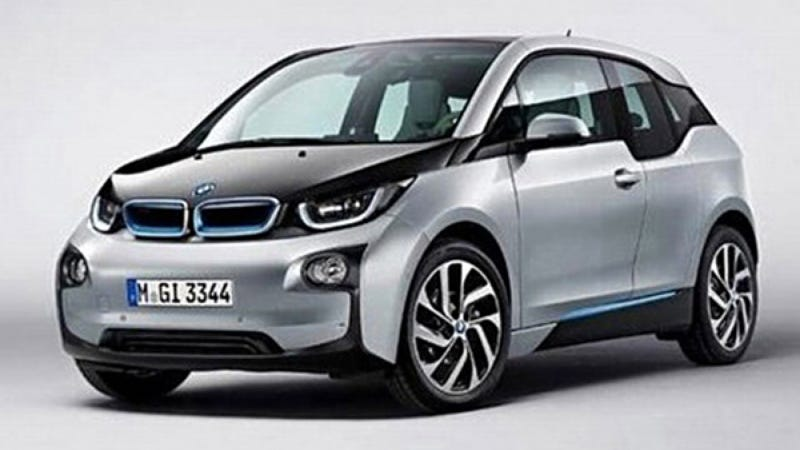 Illustration for article titled The Electric BMW i3: This Is Probably It