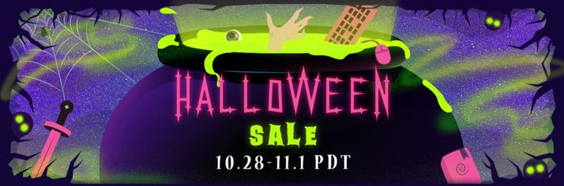 Illustration for article titled Steam Is Having A Big Halloween Sale