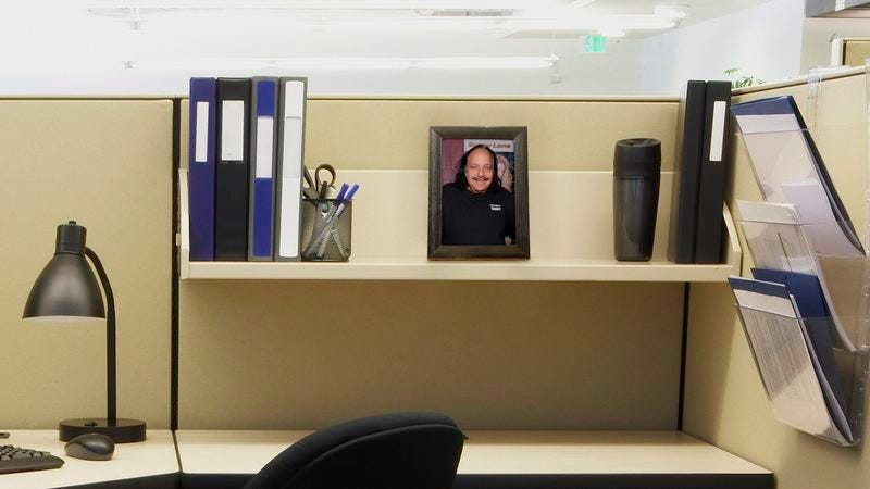 Illustration for article titled 5 Things On Your Coworker's Desk That Seem To Suggest Ron Jeremy Is His Son