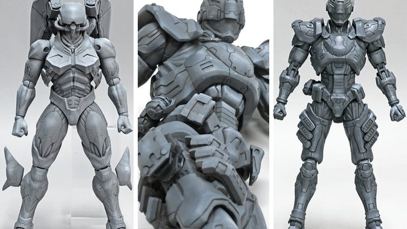 Illustration for article titled Vanquish Figures Unloaded for Your Viewing Pleasure