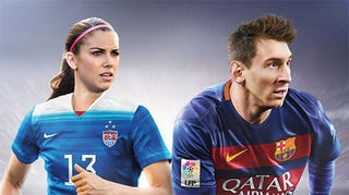 Illustration for article titled Women Make The Cover Of EA's Biggest Sports Game