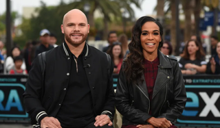 (l-r) Chad Johnson and Michelle Williams