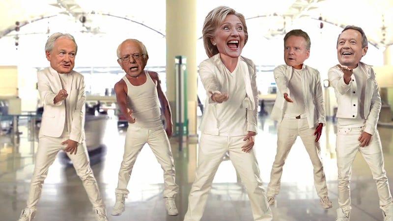 Illustration for article titled Tearin' Up My Vote: Jezebel Liveblogs the Democratic Debate
