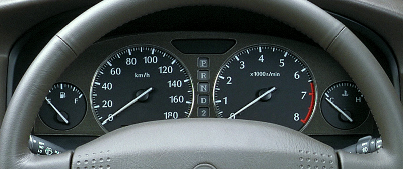 Illustration for article titled Post your gauge clusters?