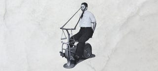 Illustration for article titled 11 Machines That Exercise For You, From the Victorian Era to Today