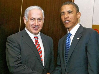 Benjamin Netanyahu with President Obama (Getty Images)