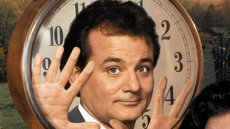 Illustration for article titled This Groundhog Day, why not relive the making of Groundhog Day?