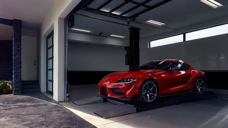 Illustration for article titled Looks like a couple Youtuber's were ok with paying over sticker for a '20 Supra