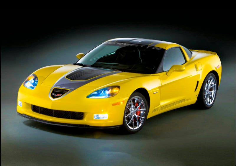 Illustration for article titled 2009 Corvette GT1 Championship Edition: Like A C6R, Only Slower