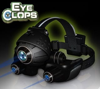 Illustration for article titled EyeClops Night Vision Goggles, My Secret Manhunt Weapon