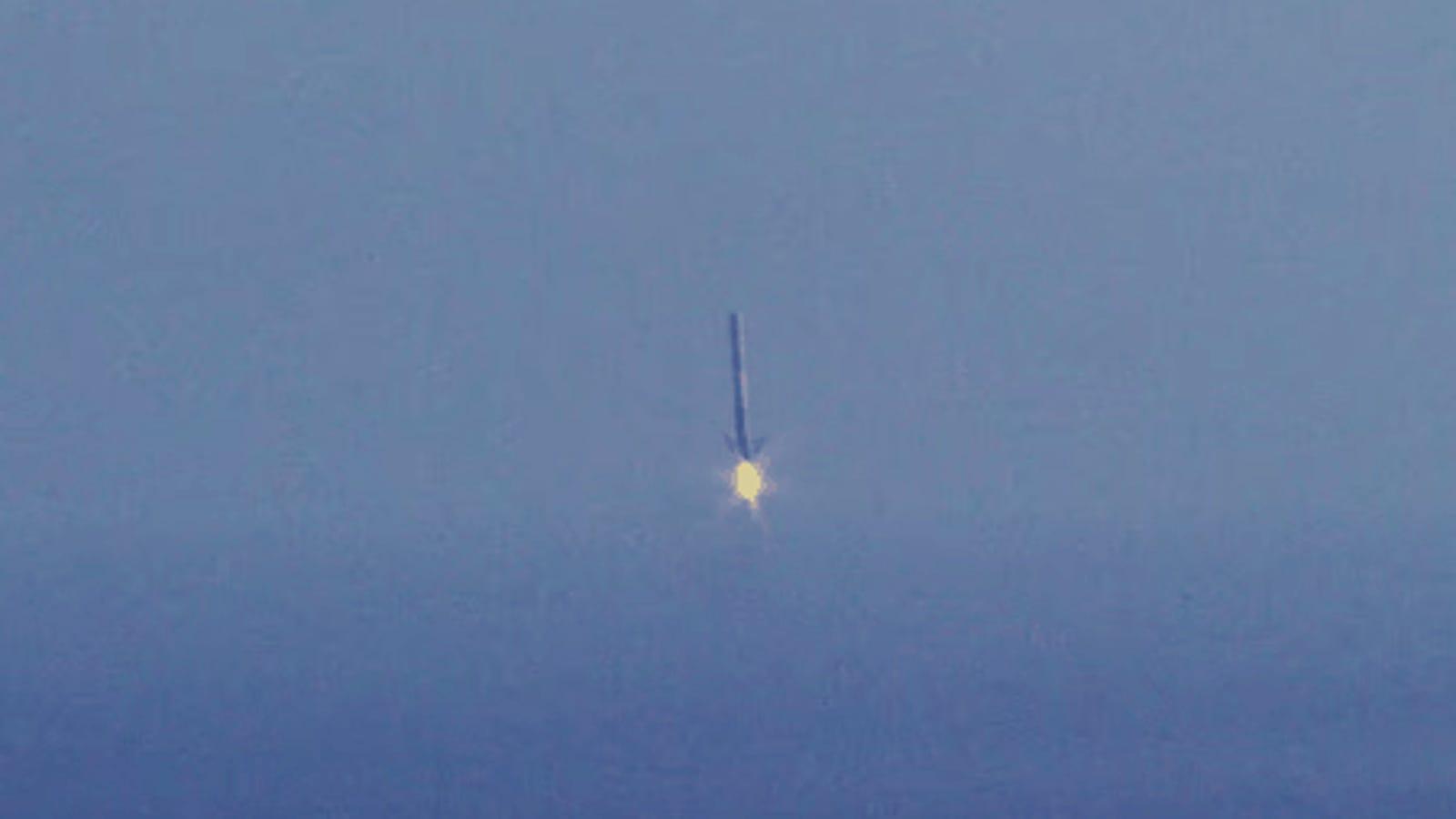 Esta es la brutal maniobra que el Falcon 9 volverá a intentar el domingo