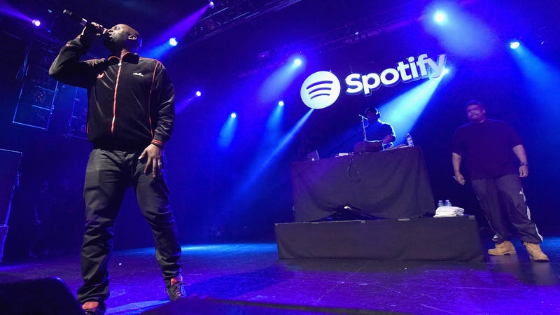 De La Soul performs at a Spotify event in New York in 2016.