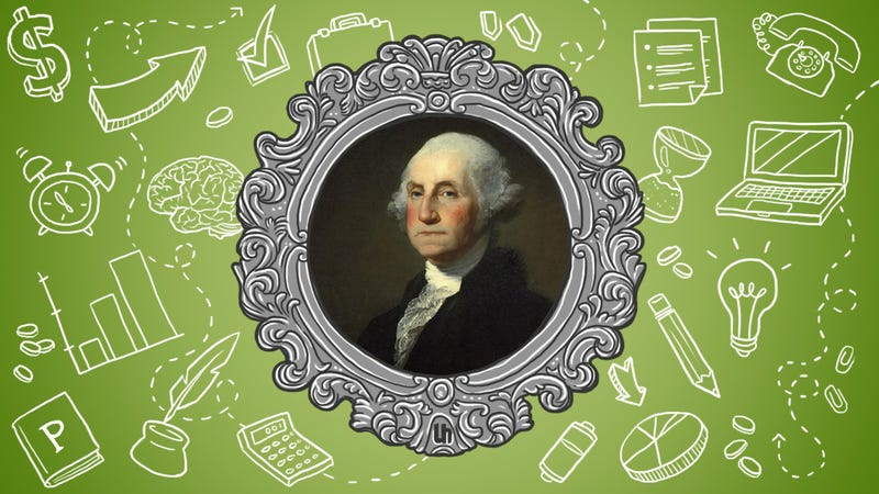 Illustration for article titled George Washington's Best Productivity Tricks