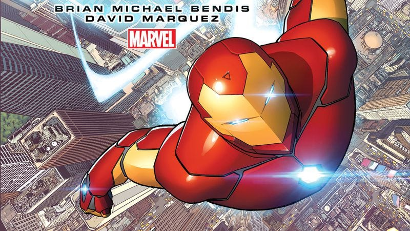 """Illustration for article titled Marvel's """"All-New, All-Different"""" Invincible Iron Man offers more of the same"""