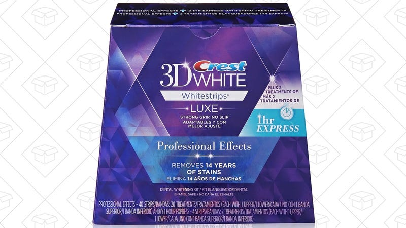 Crest 3D White Luxe Whitestrips, $5 off various boxes