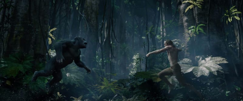 Illustration for article titled The Legend of Tarzan Trailer Looks Ridiculous In the Best Possible Way